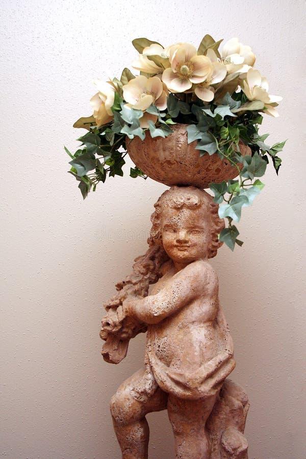 Download Cherub Statue 3 stock image. Image of house, decoration - 6390235