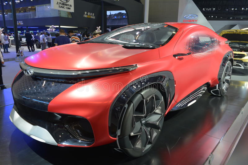Chery FV2030 concept SUV | Concept cars, Electric cars, Car