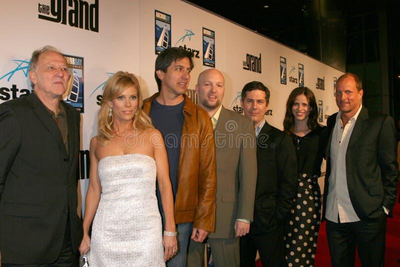 Cheryl Hines, Chris Parnell, Ray Romano, Werner Herzog, Zak Penn Editorial Photo