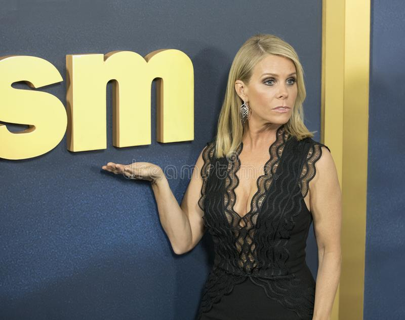 Cheryl Hines. Comedic actress Cheryl Hines arrives for the NY premiere of the 9th season of HBO`s hit comedy, `Curb Your Enthusiasm.` Larry David plays a stock image