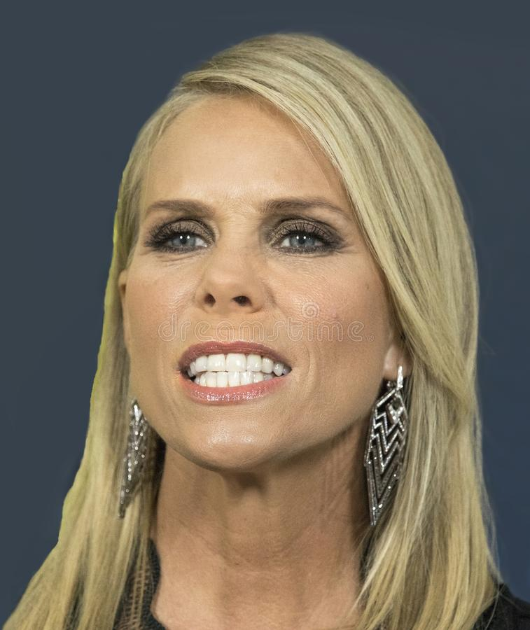 Cheryl Hines. Comedic actress Cheryl Hines arrives for the NY premiere of the 9th season of HBO`s hit comedy, `Curb Your Enthusiasm.` Larry David plays a stock photo