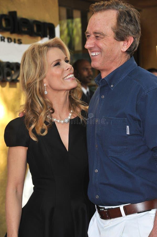 Cheryl Hines & Robert F Kennedy Jr stock fotografie