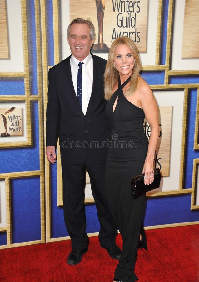 Cheryl Hines & Robert F Kennedy Jr royalty-vrije stock foto