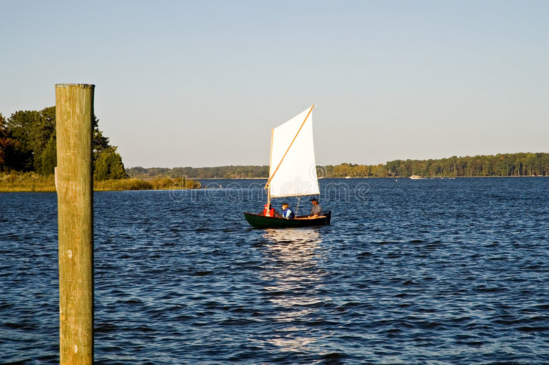 chesapeake κόλπων εξερεύνηση στοκ φωτογραφία
