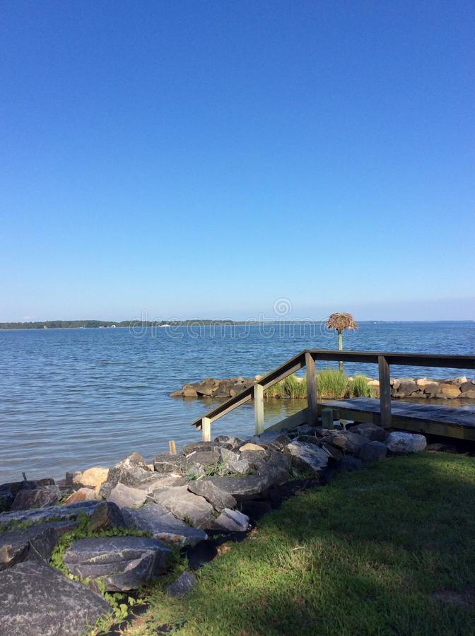 Chesapeake Baai royalty-vrije stock foto