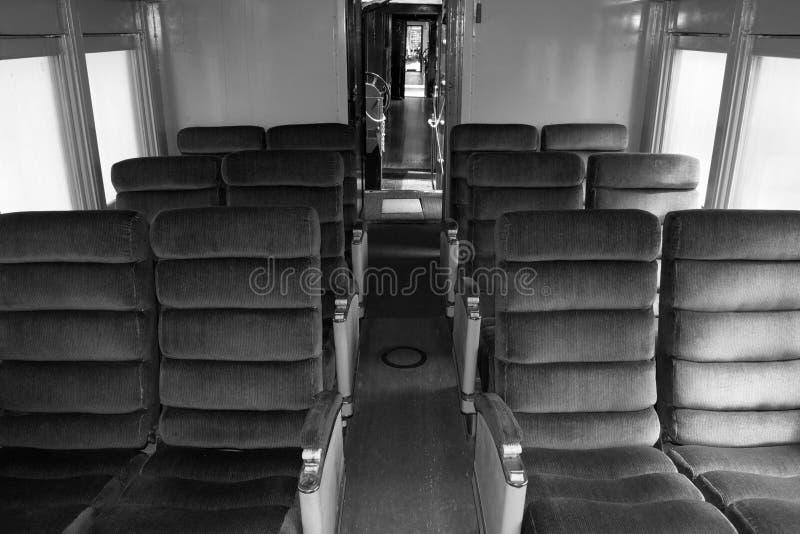 Chesapeake et voiture de service de train voyageurs de l'Ohio, Clifton F photo stock