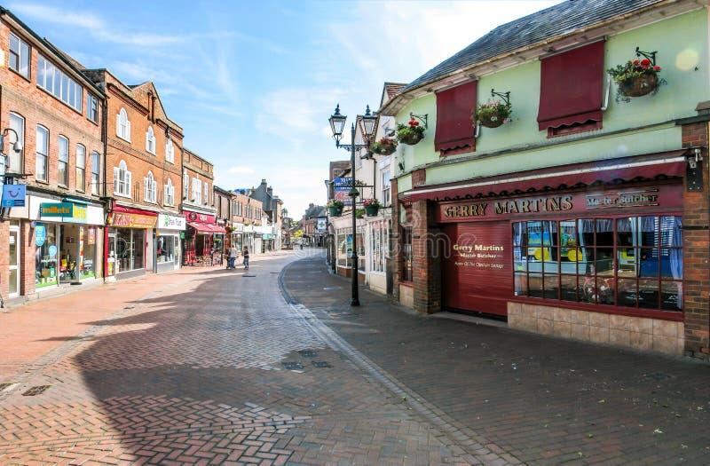 Chesham - storgatan arkivbild