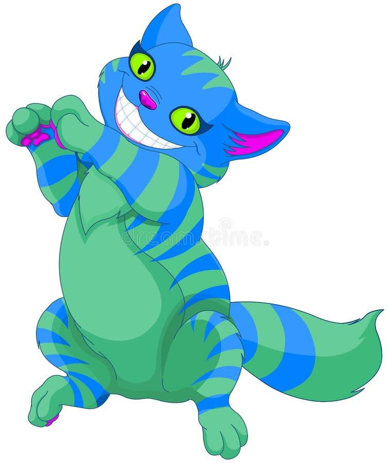 Cheshire Cat ilustração do vetor