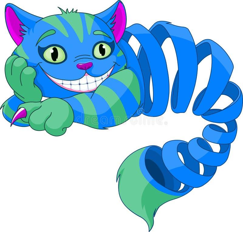 Cheshire Cat de desaparecimento ilustração do vetor