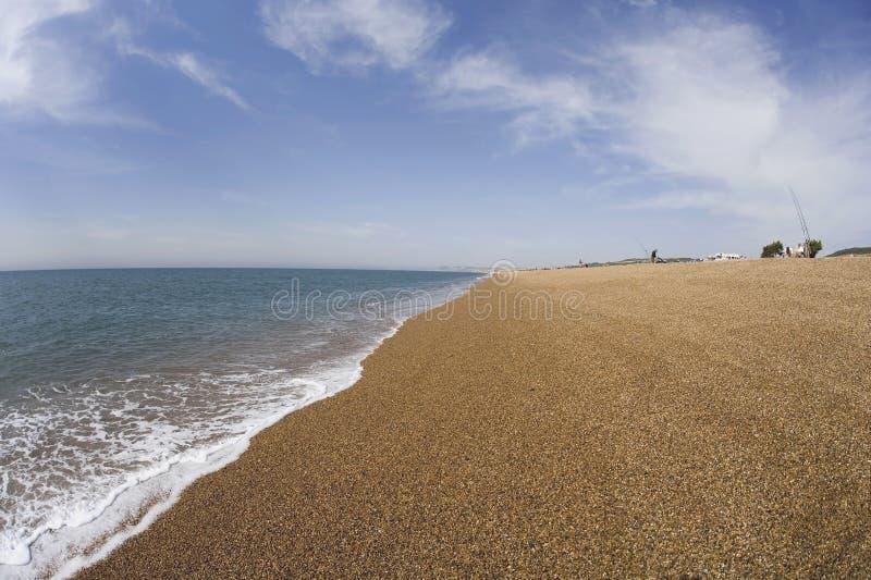 chesil plażowy Dorset zdjęcie royalty free