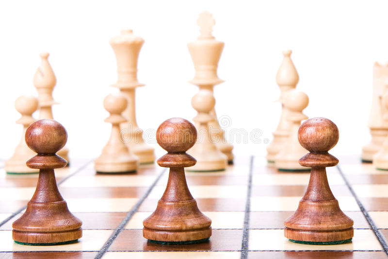 Download Chess stock image. Image of brown, power, background - 10756823