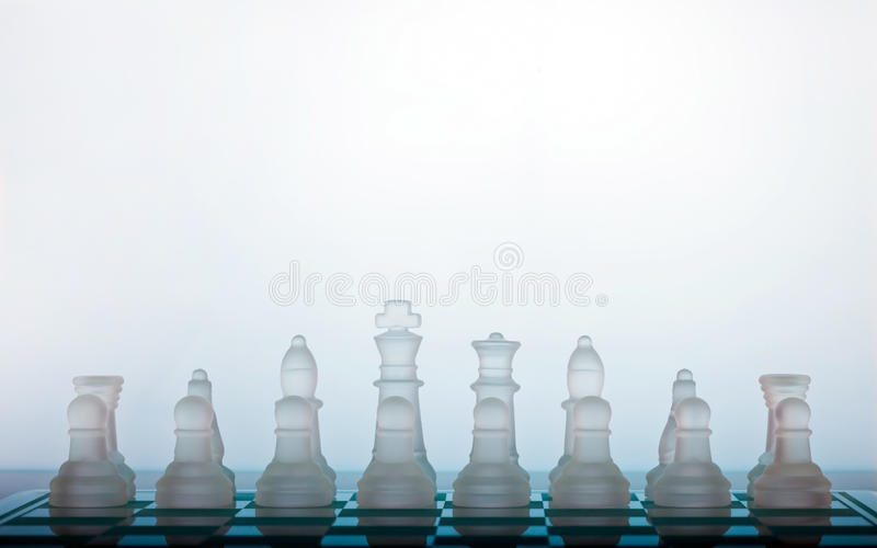Download Chess stock image. Image of smart, protecting, crystal - 15916825