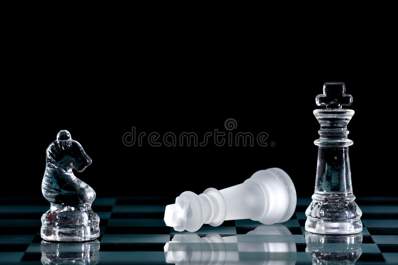 Download Chess stock image. Image of knight, piece, strategy, glass - 1720021