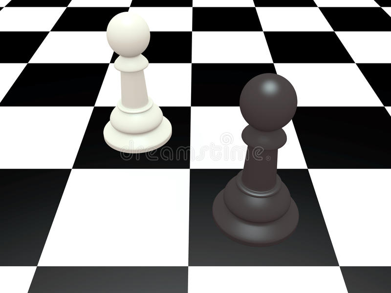 Download Chess stock illustration. Image of challenge, power, move - 24740034