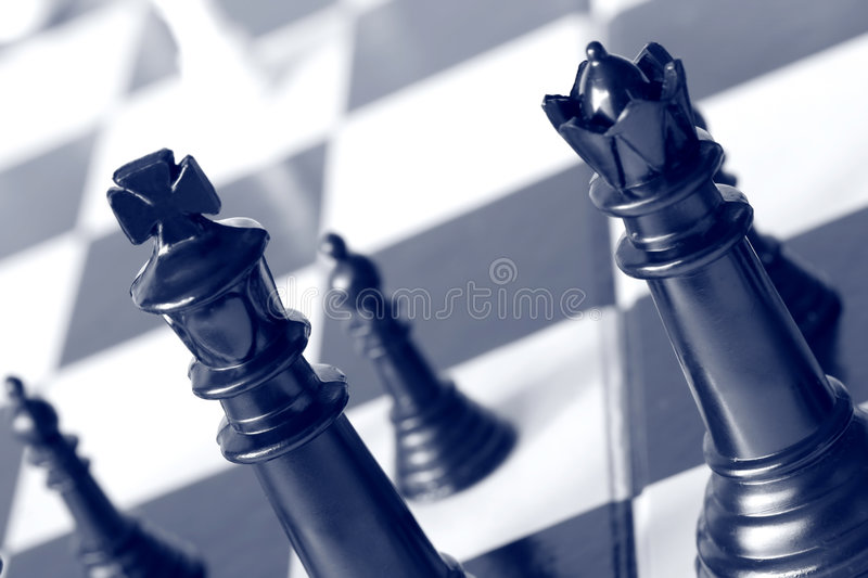 Download Chess stock image. Image of pawn, duotone, competition - 2685055
