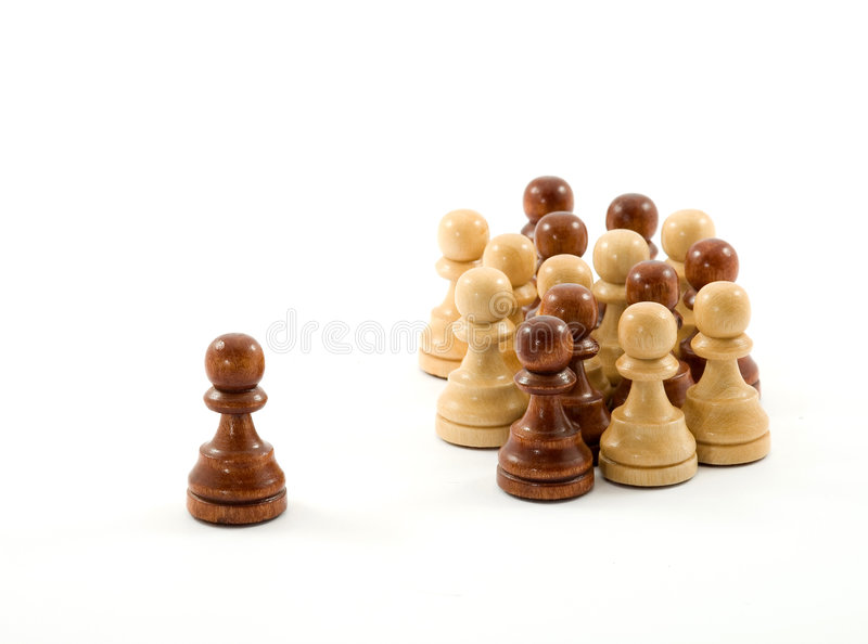 Download Chess stock image. Image of isolated, white, black, queen - 3586253