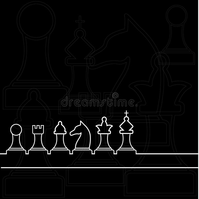 Chess1 illustration libre de droits