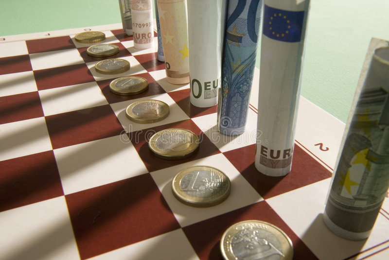 Download Chess stock photo. Image of mintage, moneys, checkboard - 7641522