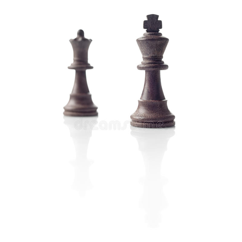 Download Chess. Black King And Queen, Leadership Concept Stock Photo - Image: 27444016