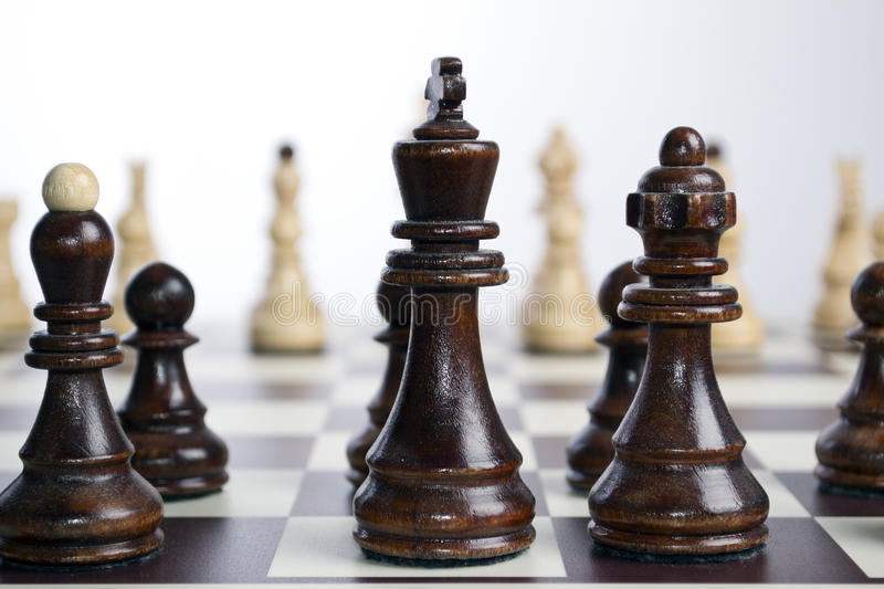 Download Chess Board With Chess Pieces Stock Image - Image: 26228017
