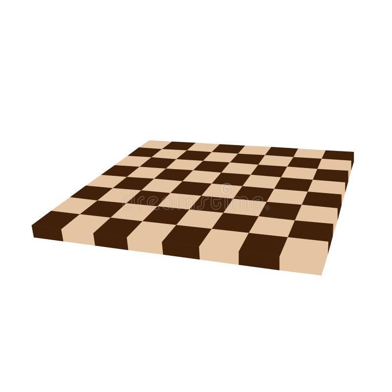 Chess board vector royalty free illustration