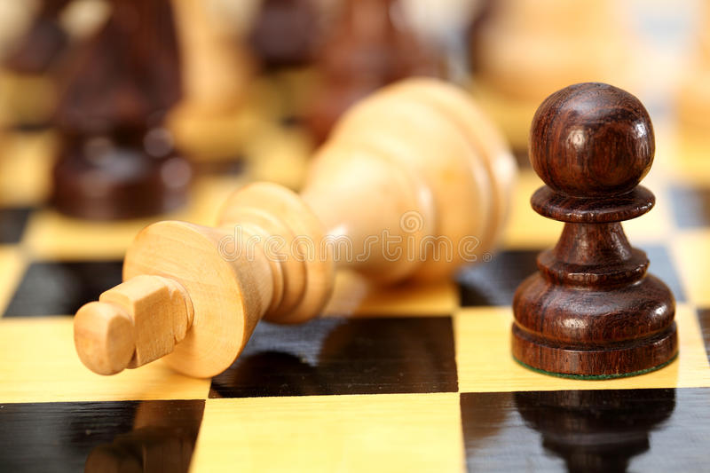 Chess-Checkmate stock images