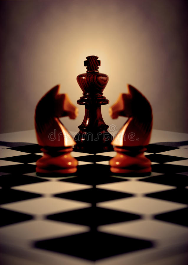 Chess Concept royalty free stock image