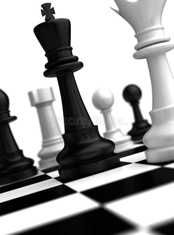 Chess Concept royalty free stock photos