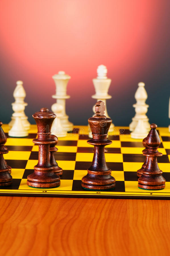 Download Chess concept with pieces stock photo. Image of castle - 12910606