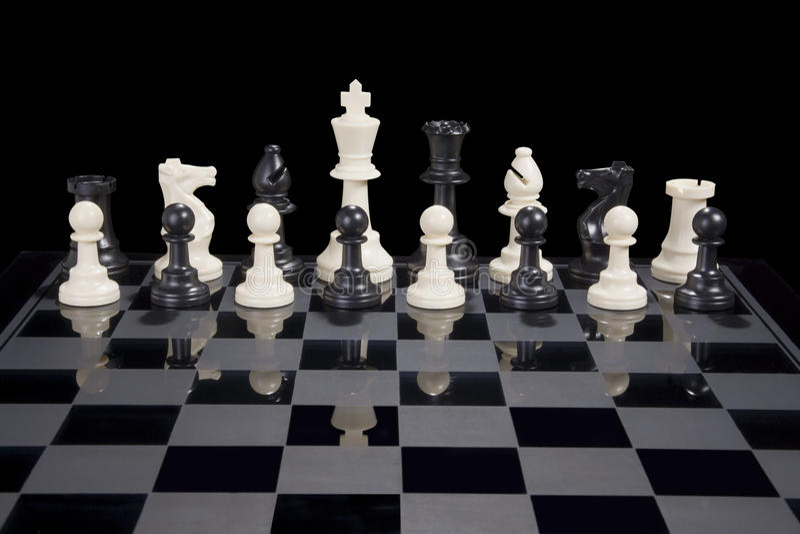 Chess Diversity White King stock photos