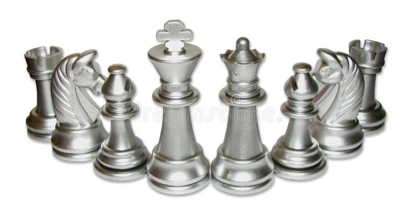 Chess Family Gathering stock photo