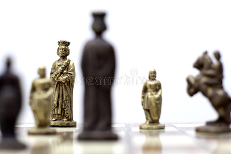 Download Chess game stock photo. Image of decision, challenge - 15308044