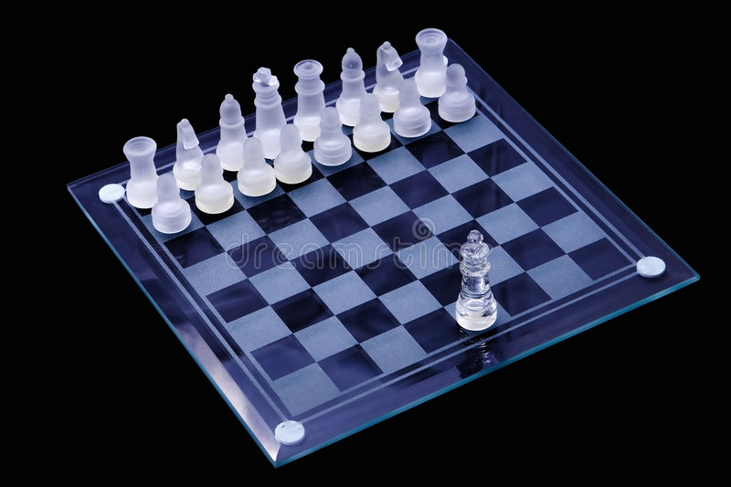 Chess Game Board Stock Image