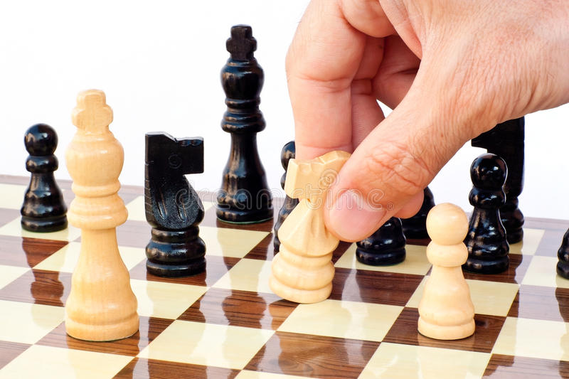 Download Chess game board stock image. Image of concept, chess - 20631053