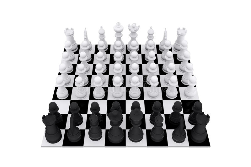 Download Chess game board stock image. Image of backgrounds, chess - 29402345