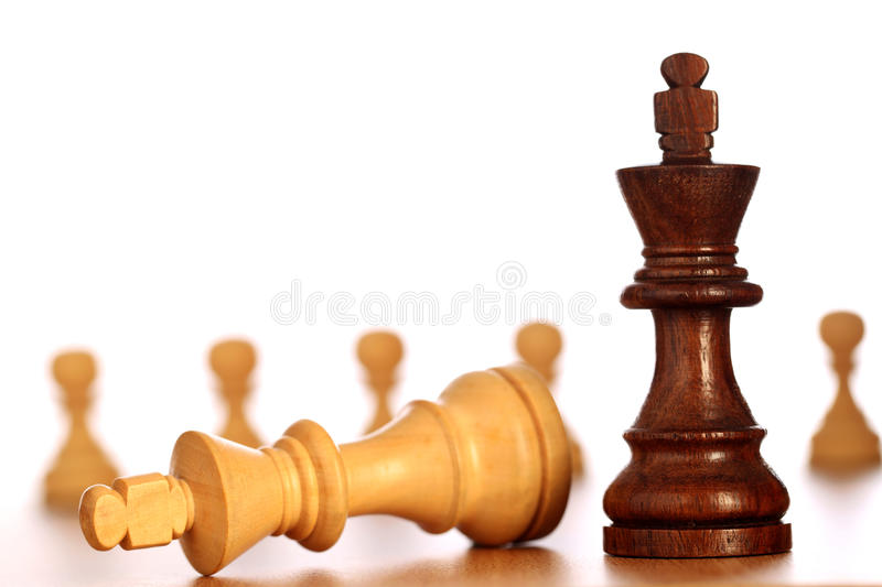 Chess game-Checkmate stock images