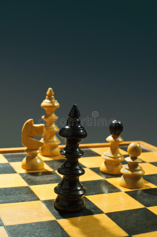 Download Chess game stock image. Image of teamwork, object, macro - 34279785