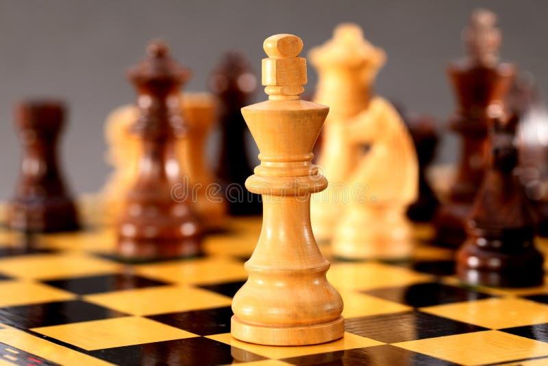 Chess king royalty free stock photos