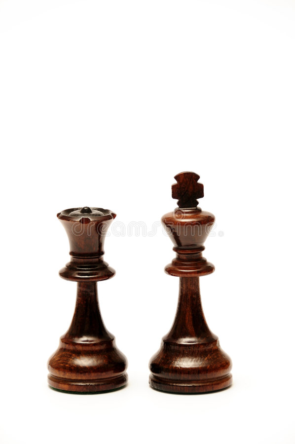 Download Chess King and Queen stock image. Image of intelligence - 7713397