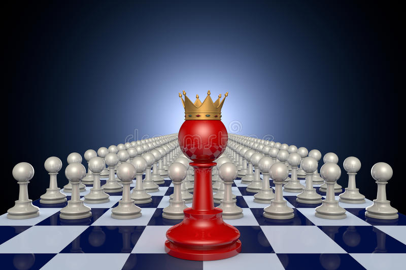 Chess kingdom stock image