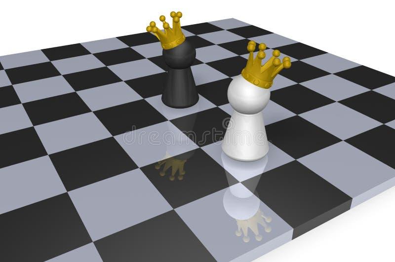 Chess Kings Stock Photos