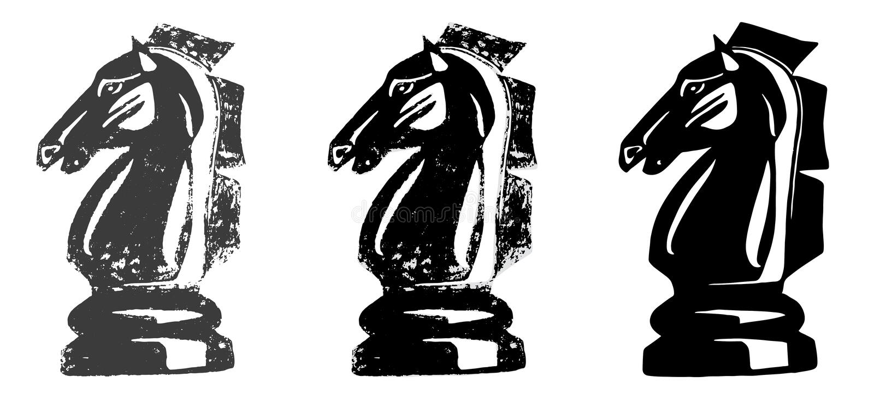 Chess Knight Horse stock photography