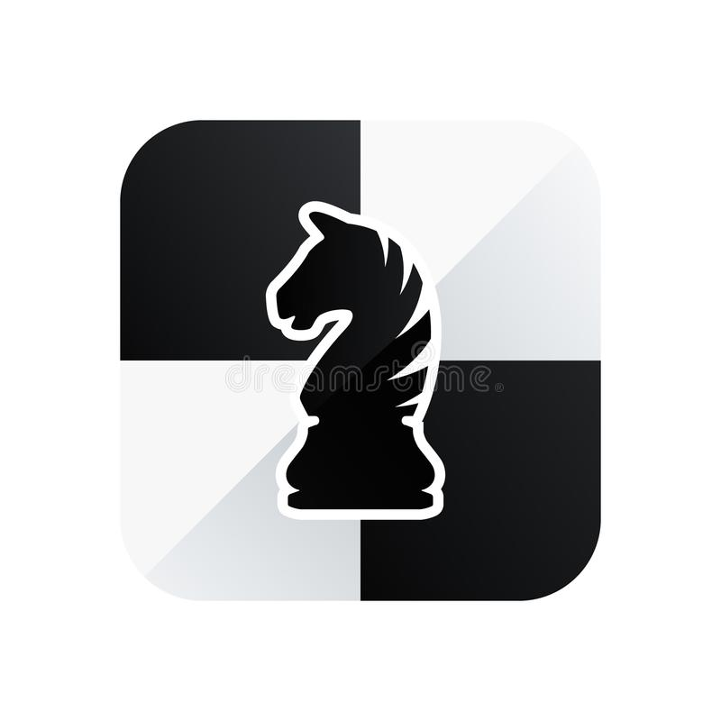 Free Chess Knight Vector Icon Isolated On White Background Stock Photo - 112961210