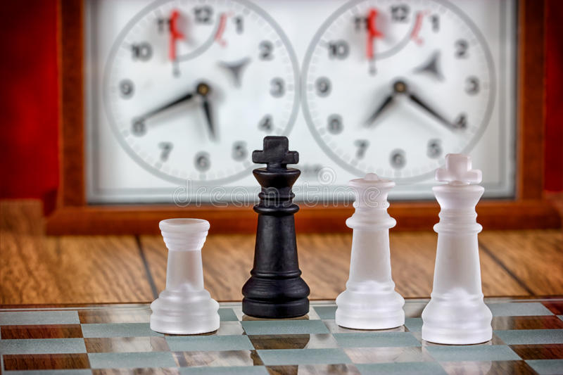 Chess - mat !. Chess, matt - Victory ( The game of chess royalty free stock images