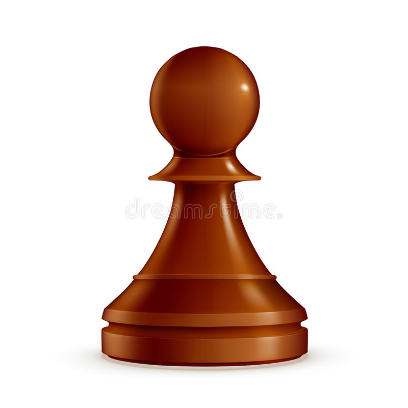 Chess Pawn vector illustration
