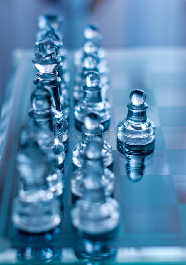 Download Chess pawn in front stock photo. Image of strategy, team - 21597838