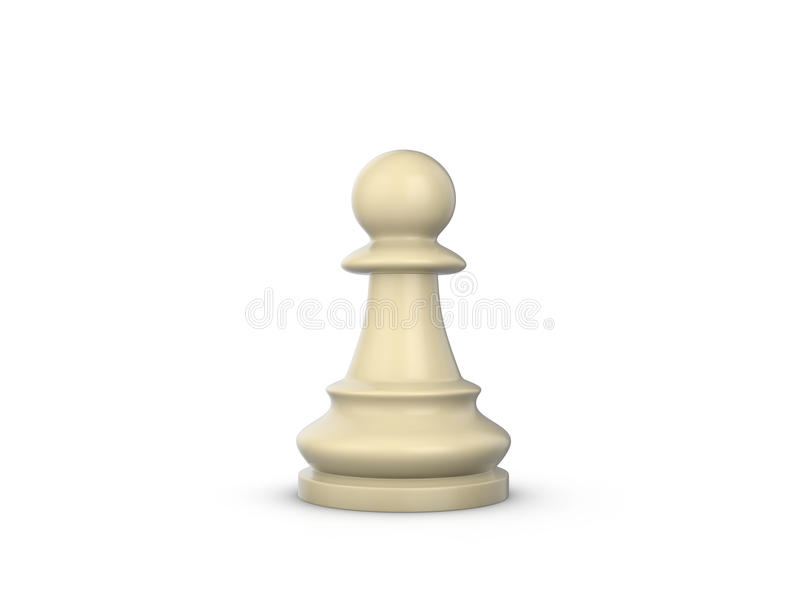 Chess pawn stock illustration