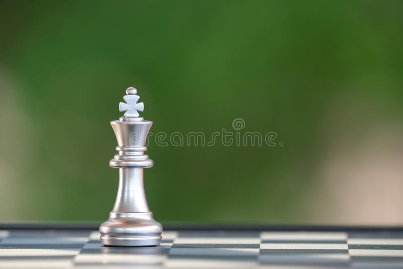 Chess photographed on a chess board stock photos