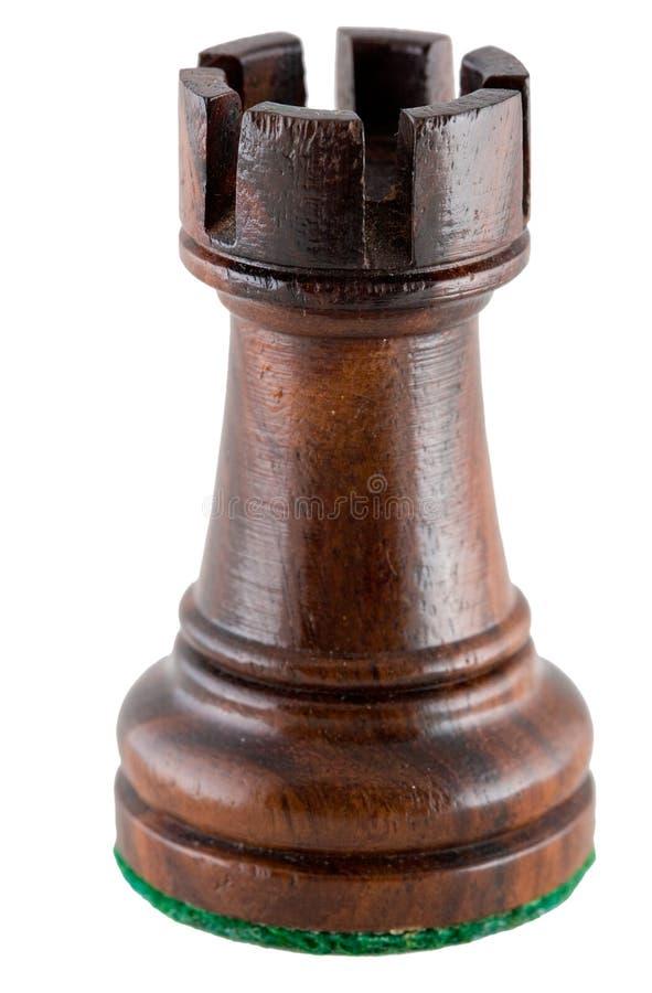 Free Chess Piece - Black Rook Stock Image - 6801251