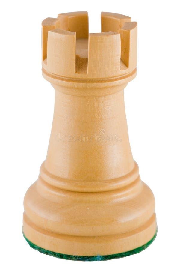 Chess Piece White Rook Royalty Free Stock Photos Image